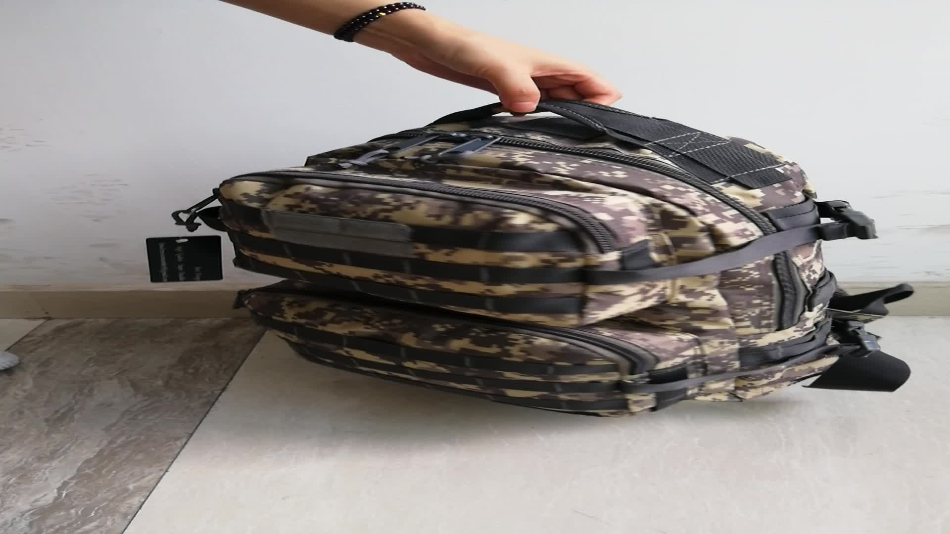70L Oversize Camo Expedition Mountaineering Hiked Climbing Backpack