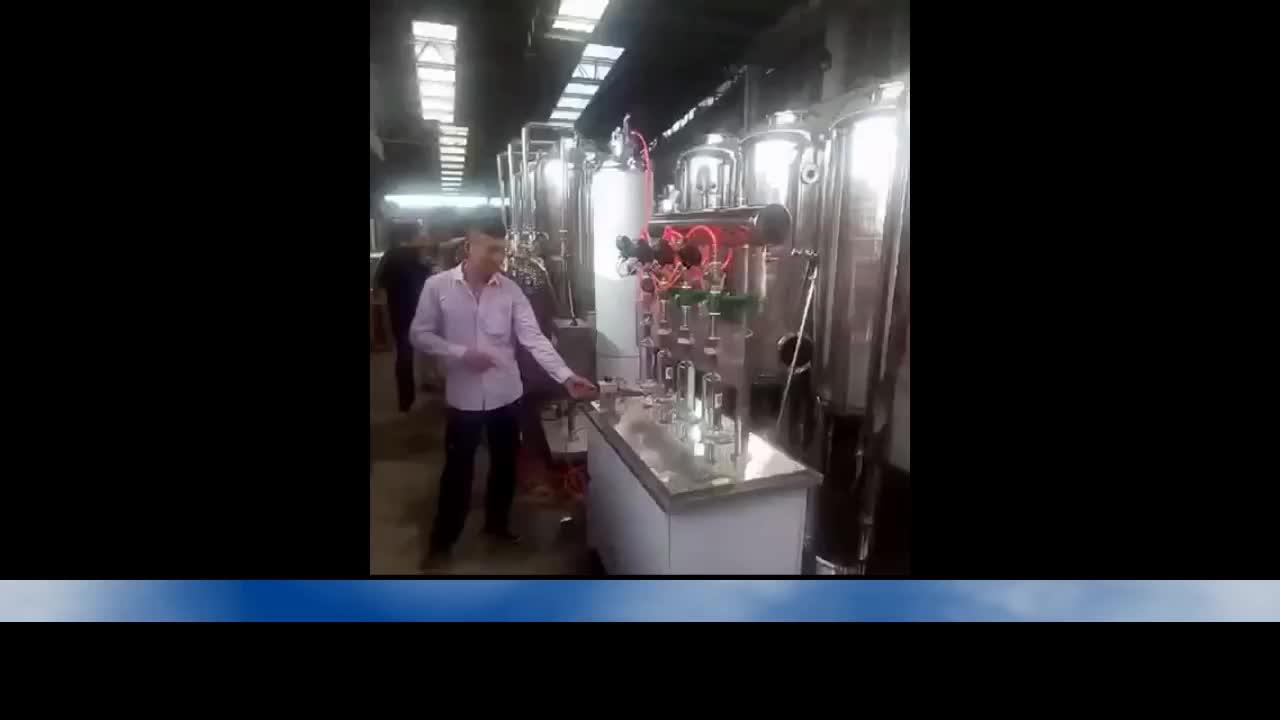 New 2019 cola four-head pneumatic filling machine price