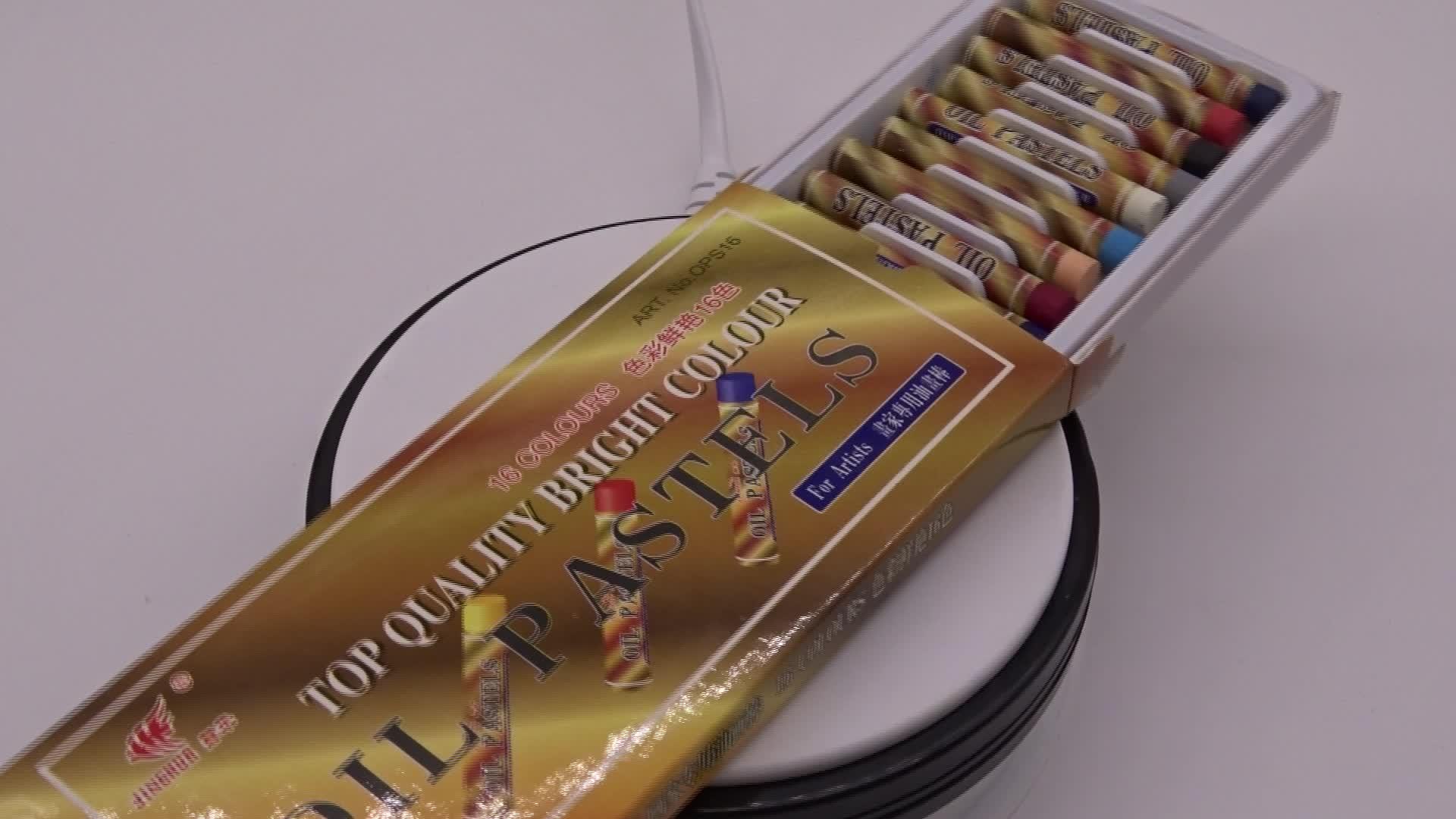 Масло карандаш ручка нетоксичный красочный