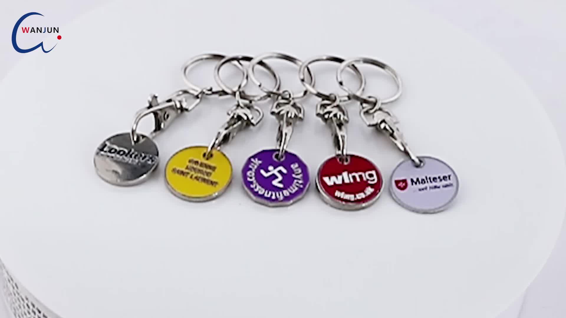 Approved with wal-mart custom zinc alloy soft enamel metal keychain,Wholesale Metal Keyring keychain