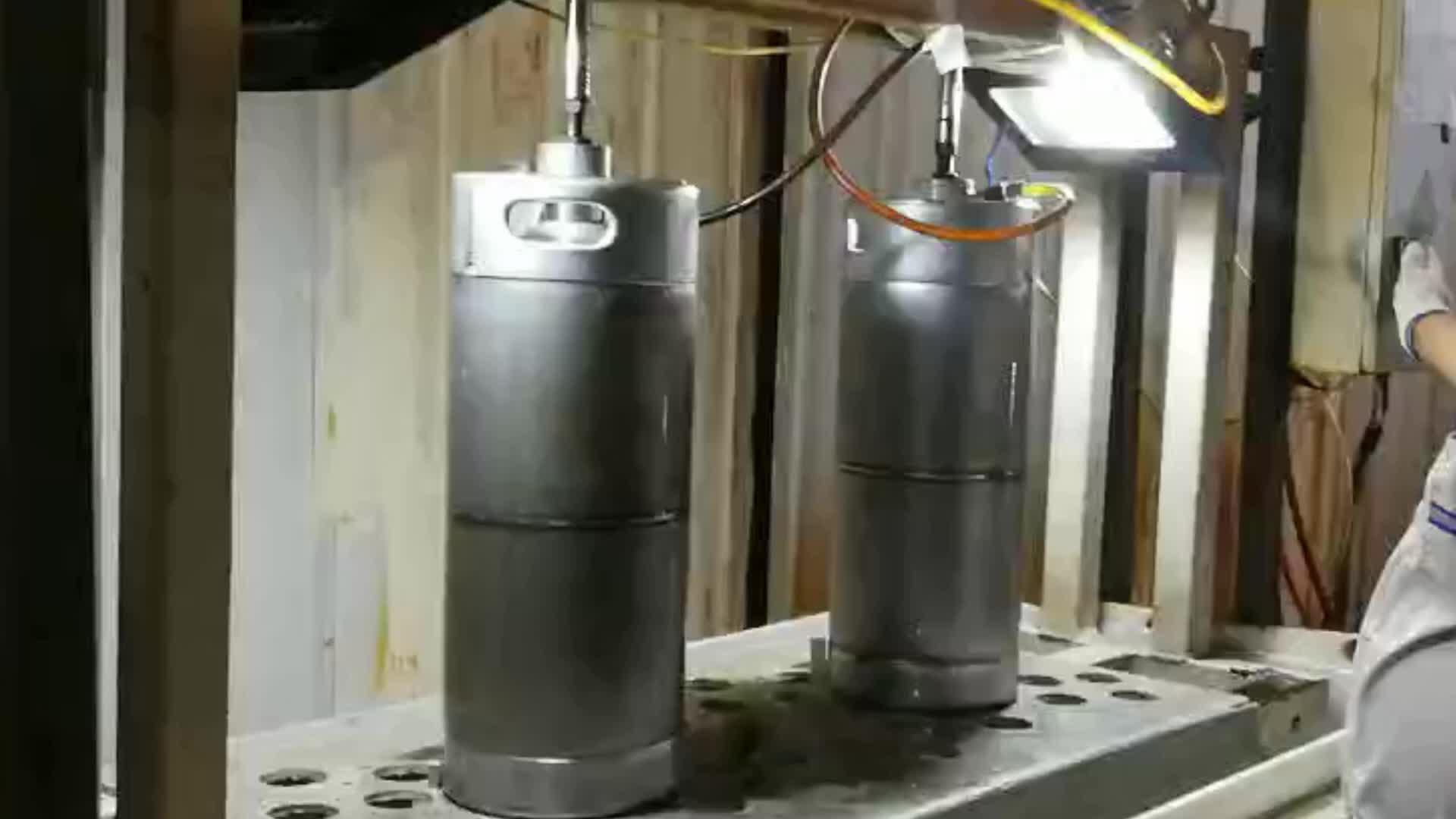 Endüstriyel bira fıçısı konteyner bize standart paslanmaz çelik bira fıçısı 1/4 30 Litre