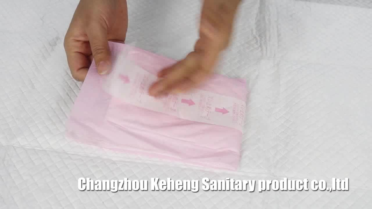 straight size maternity sanitary pad for women after abortion operation