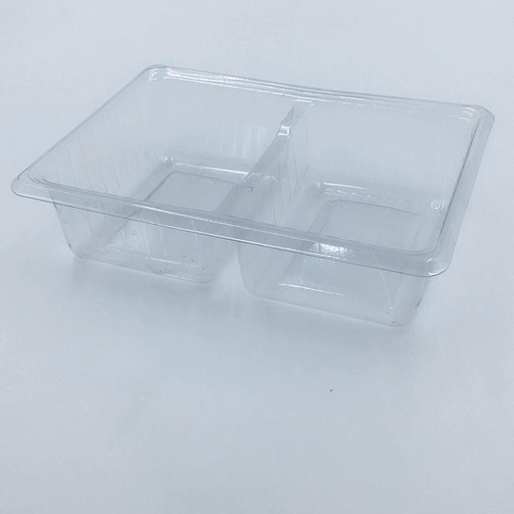 Qualité alimentaire PP en plastique de gâteau mochi blister plateau