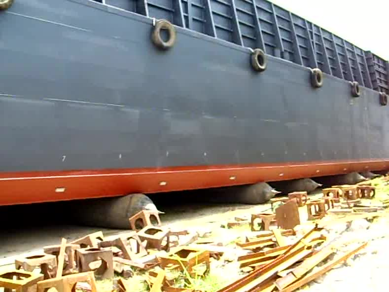 Ship Launching Inflatable Marine Rubber Airbags