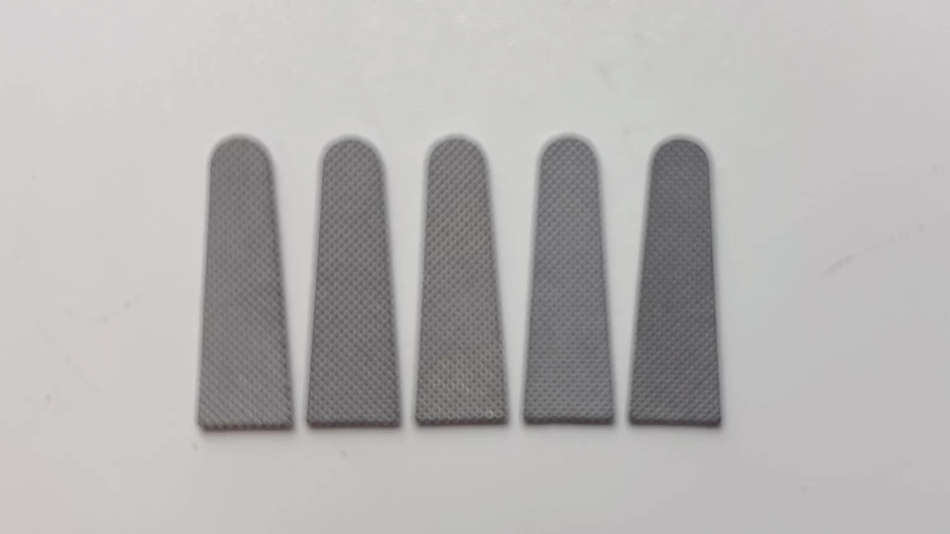Durable tungsten carbide inserts for TC needle holding