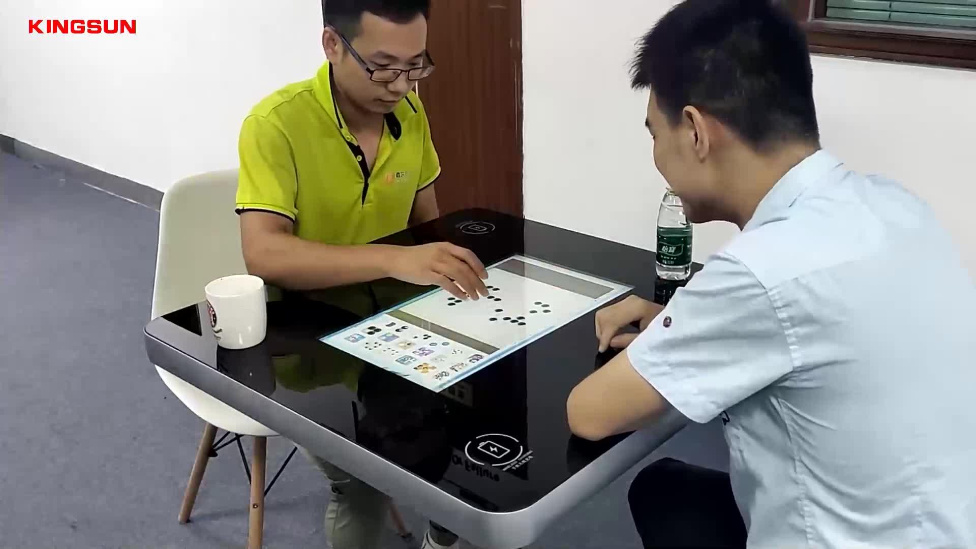 Pantalla táctil pcap de 21,5 pulgadas mesa táctil interactiva LCD