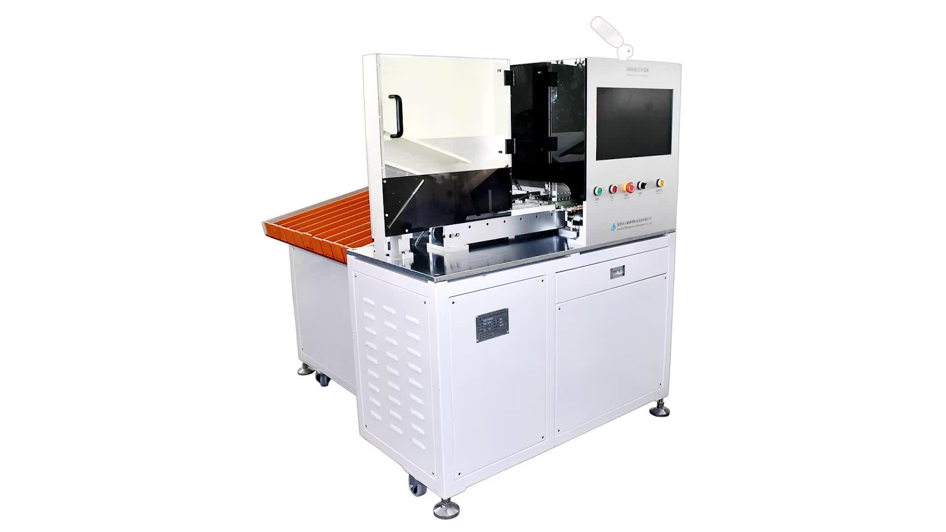 Automatische mobiele telefoon lithium batteryTWSL-500 Vijf-Categorie Cilindrische Batterij Cel Testen en Sorteren Machine