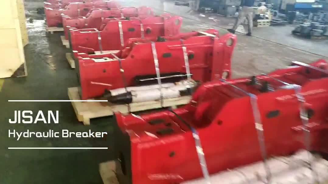 Box Type Rock breaker Jack hammer for 30 ton Excavator