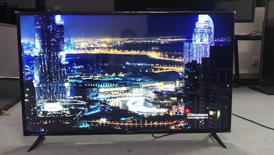 2021 New Design Smart & 3D & Super Slim LED TV 32-100 INCH