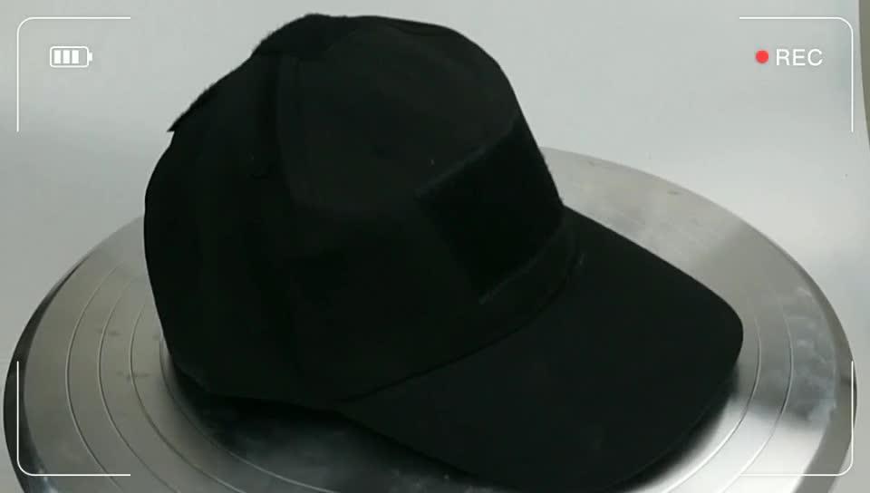 Black Plain Flat cap Army Hat Manufacture Custom Varies Style  Black Military  Caps