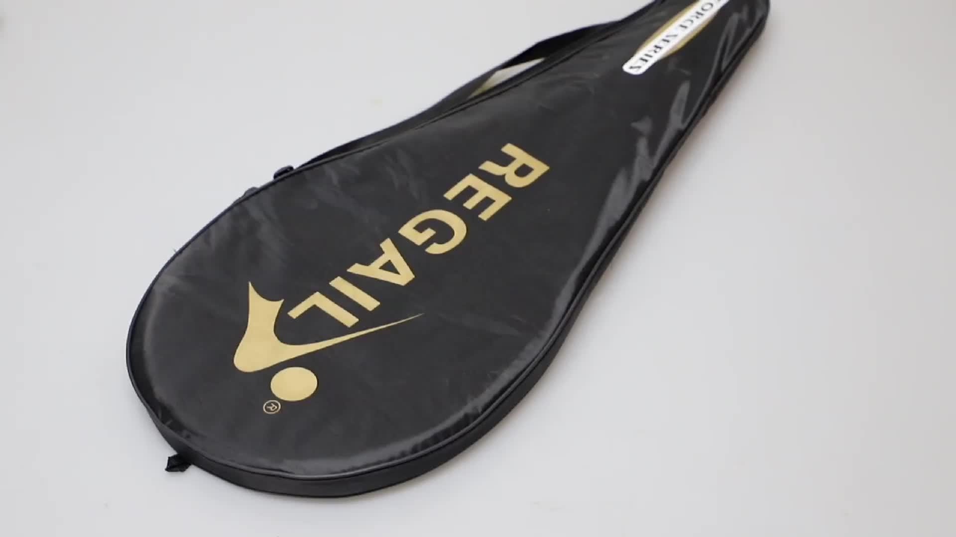Raket Tenis Profesional Bahan Aloi Karbon Aluminium Oem Desain Raket Anda Sendiri Raqueta De Tennis Latihan Dewasa Remaja