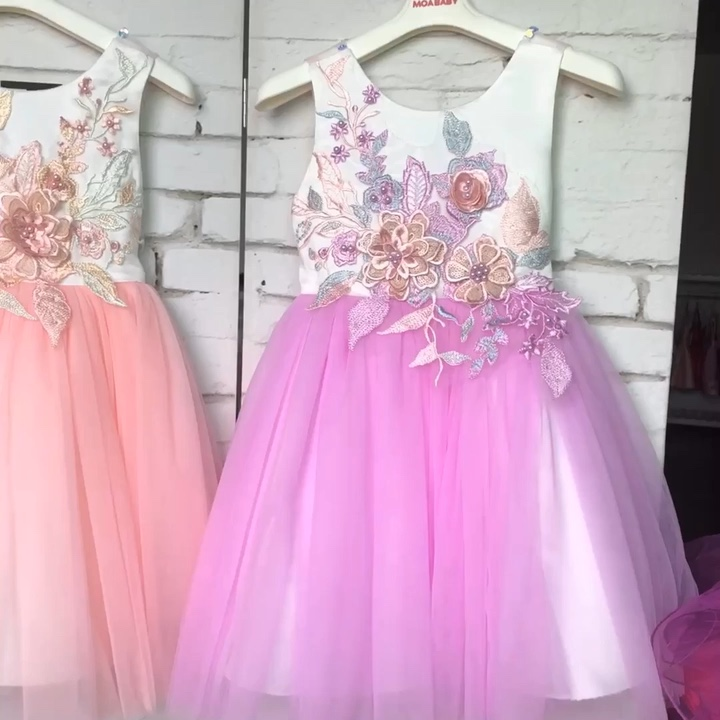 Hot Sale Anak Rok Model Barbie Berdandan Permainan untuk Anak Perempuan Gaun Pesta untuk 2-12 Tahun Anak Perempuan