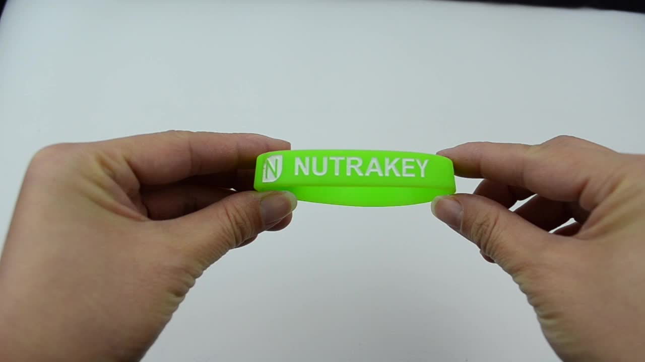 Cheap custom best selling silicone rubber retail items silicon wrist band
