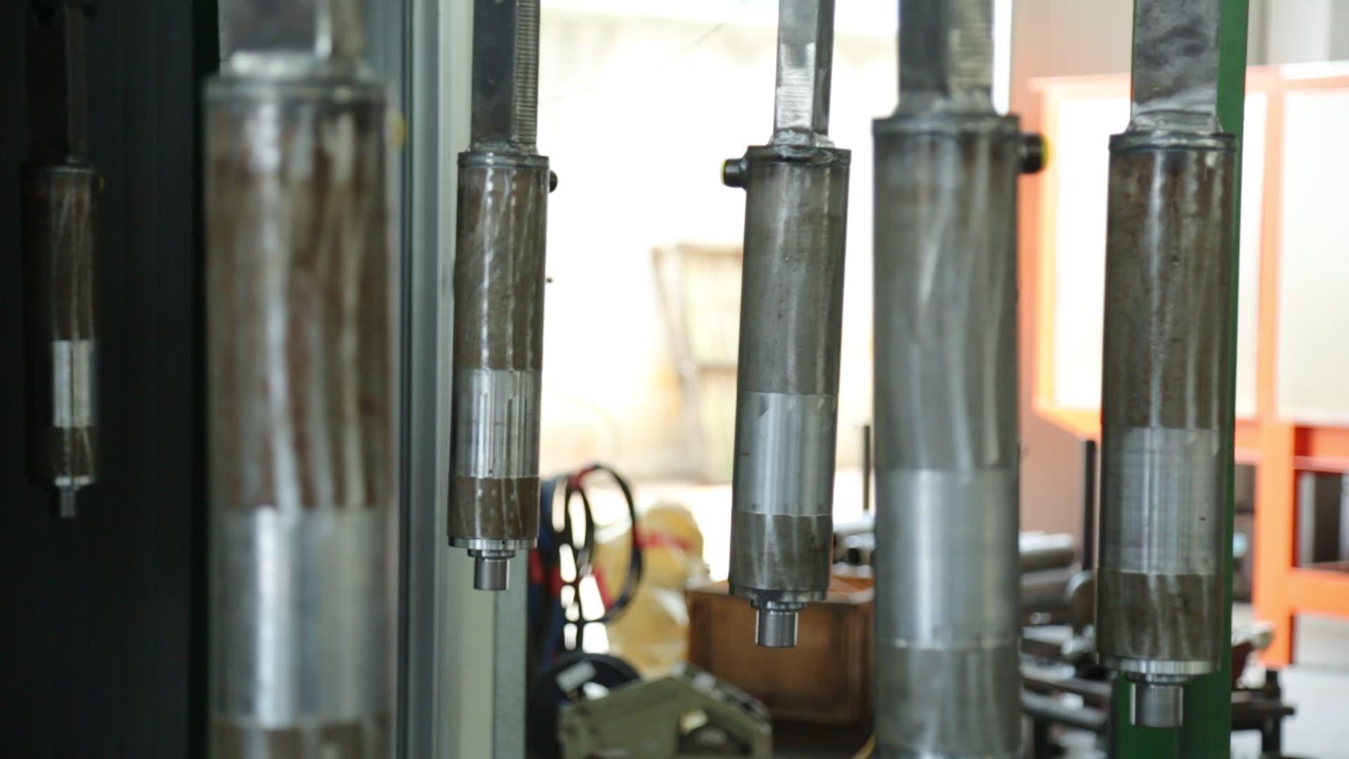 Pneumatic/ Hydraulic cylinder chromed piston rod from China