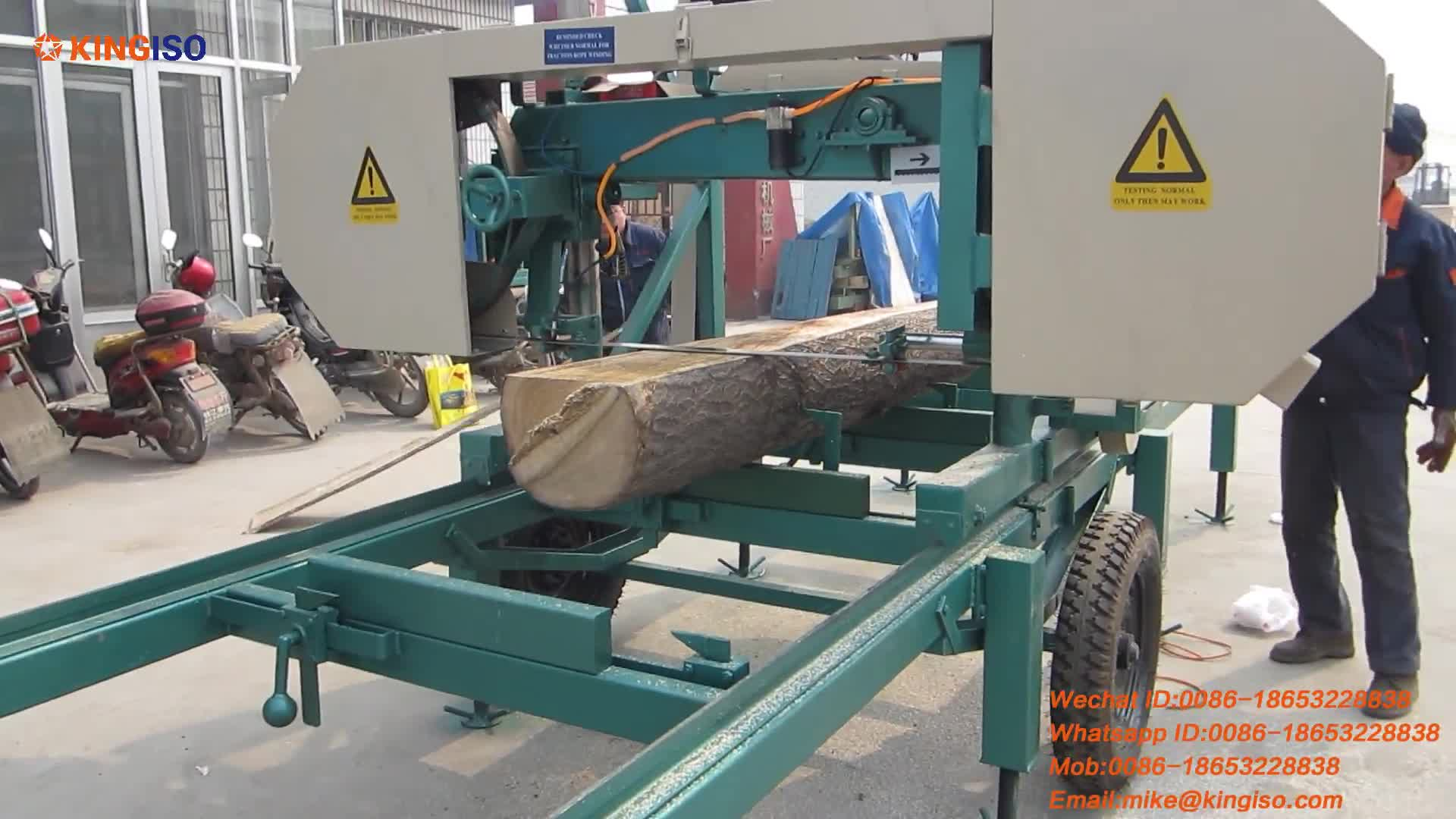 MJ800 Electrical Engine Portable Sawmill for Sale