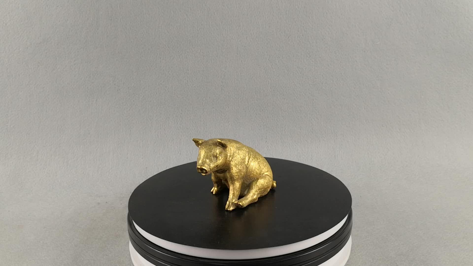 สวนหมูกลางแจ้ง decor figurine อะนิเมะที่ดีที่สุดขายผลิตภัณฑ์ mini resin craft