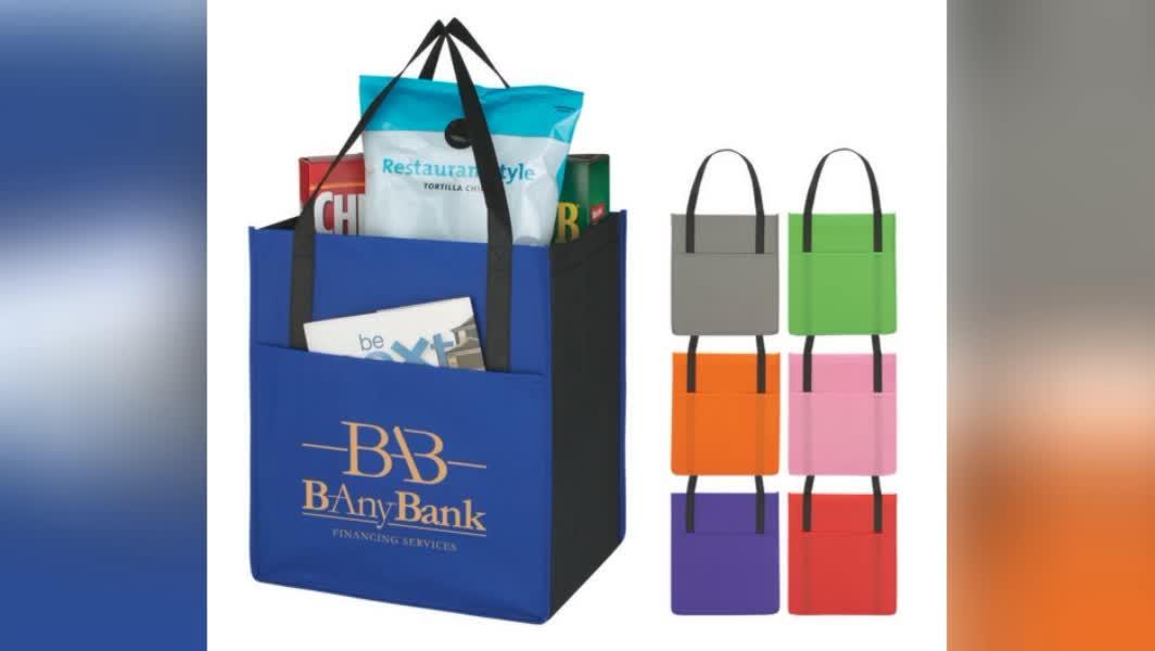 wholesale Cheap promotional reusables bolsas eco friendly custom logo printed ecological non woven shopping bag