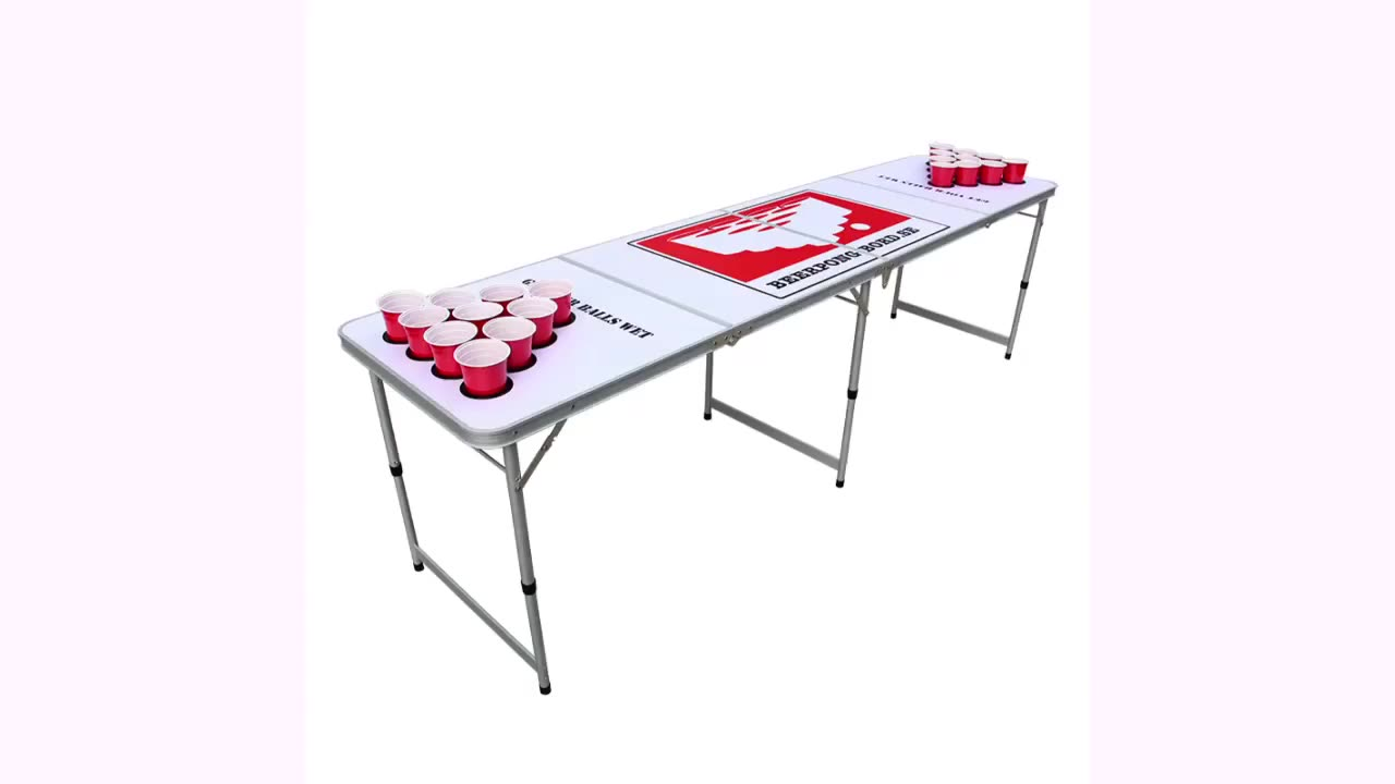 Private custom designs best beer pong tables for price sale