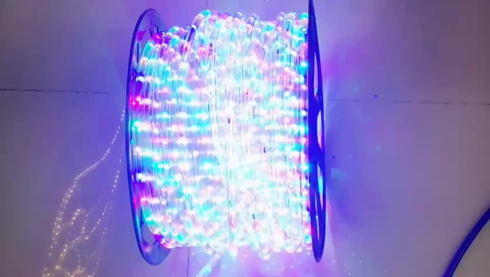 ใหม่กลางแจ้งกันน้ำสีเปลี่ยนไฟLed