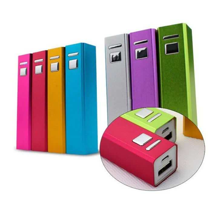 portable power bank charger 2600mah high quality backup power with climbing button carabiner