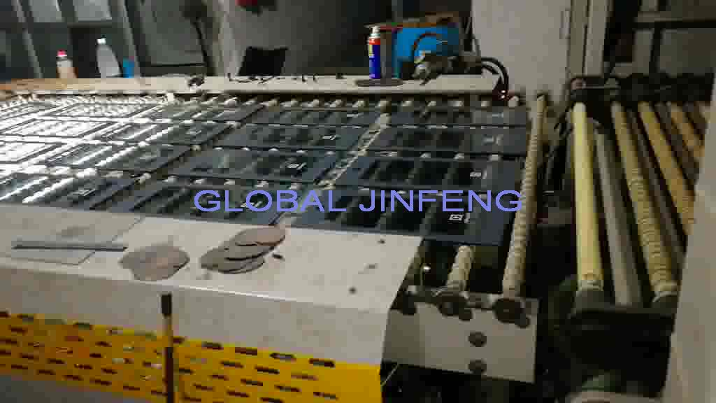 JFG2230 Horizontal Flat Glass Processing Tempering Furnace Machinery with convection