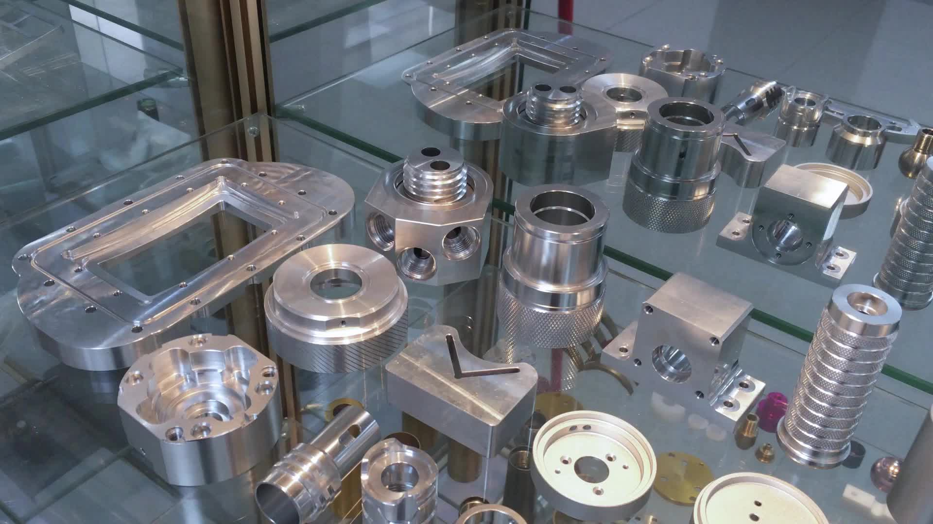 motor machining parts stainless steel cnc milling service