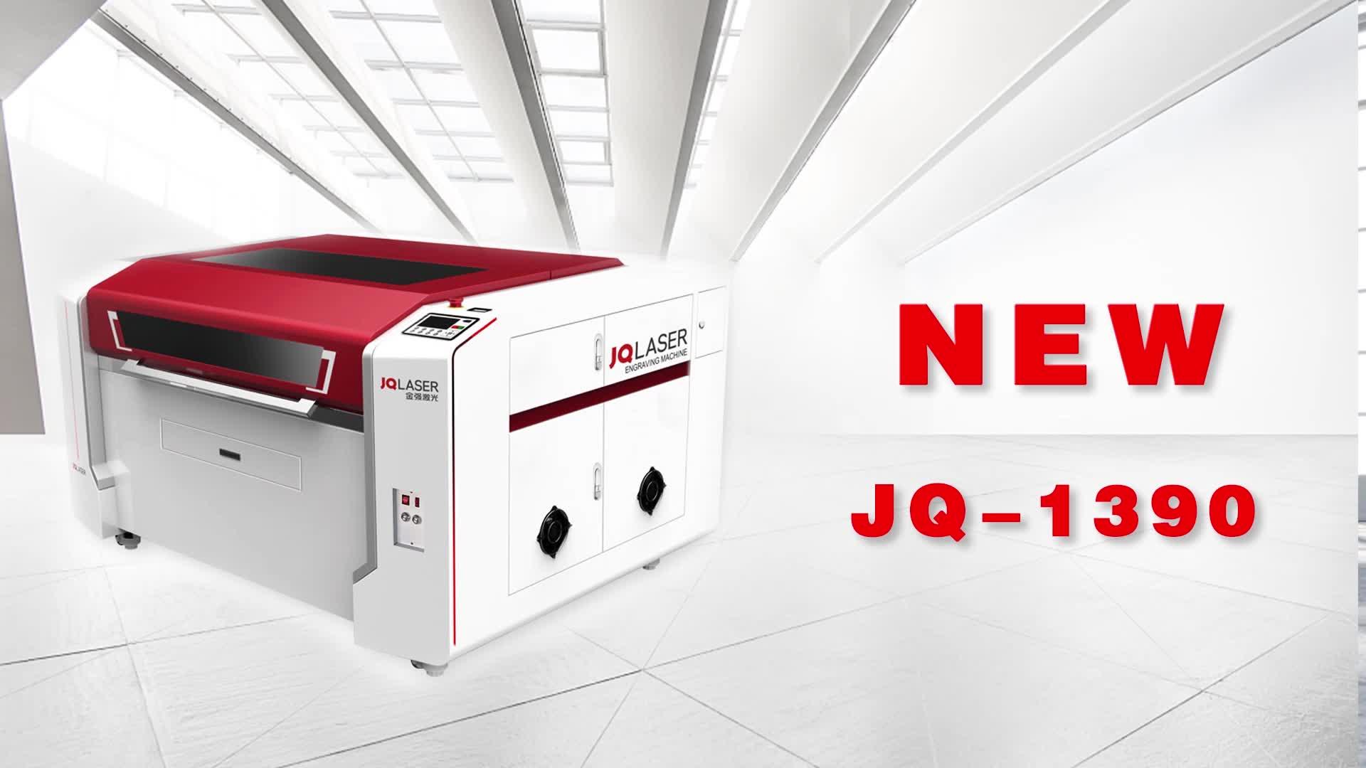 Promozione! Vendita calda! CO2 acrilico macchina di taglio laser di legno di puzzle di puzzle di taglio laser JQ1390 prezzo della macchina