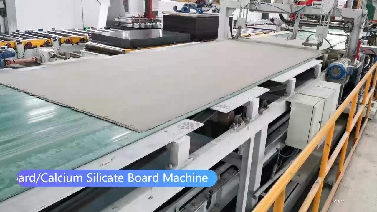 2019 Exterieur Fiber Cement Board Productie Proces, Fiber Cellulose Cement Boord Panelen Making Machine