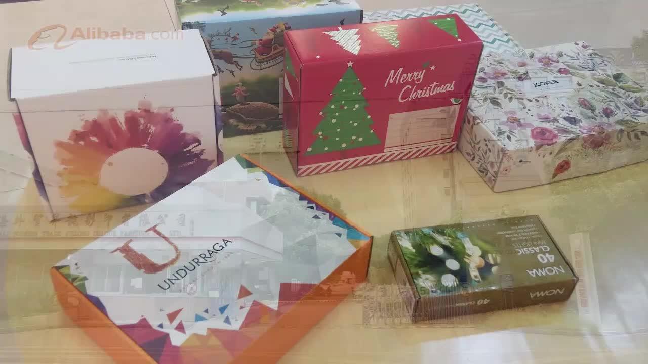 Custom Cute Cartoon  Paper Box for Packaging