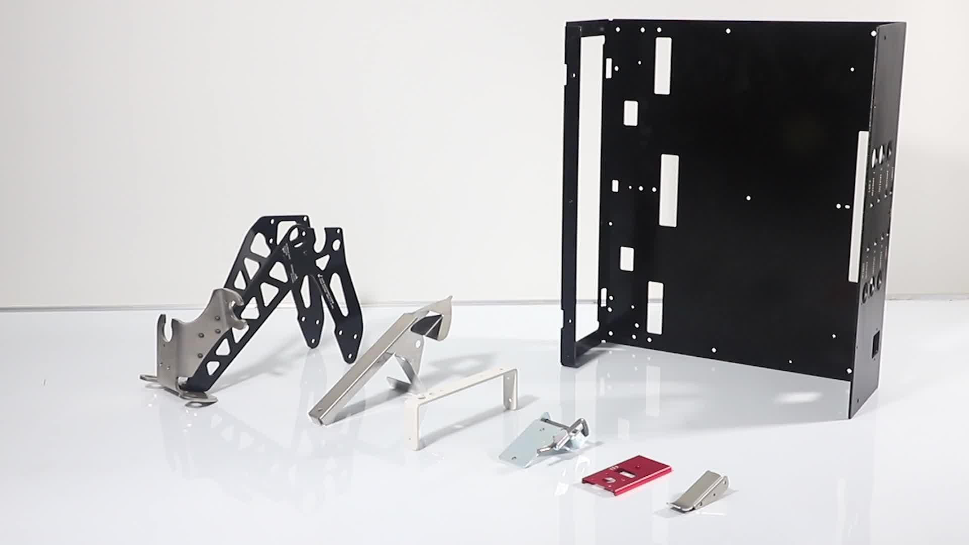 De la hoja de metal y de corte por láser parte fabricante de Shenzhen hoja de aluminio de fabricación de metal