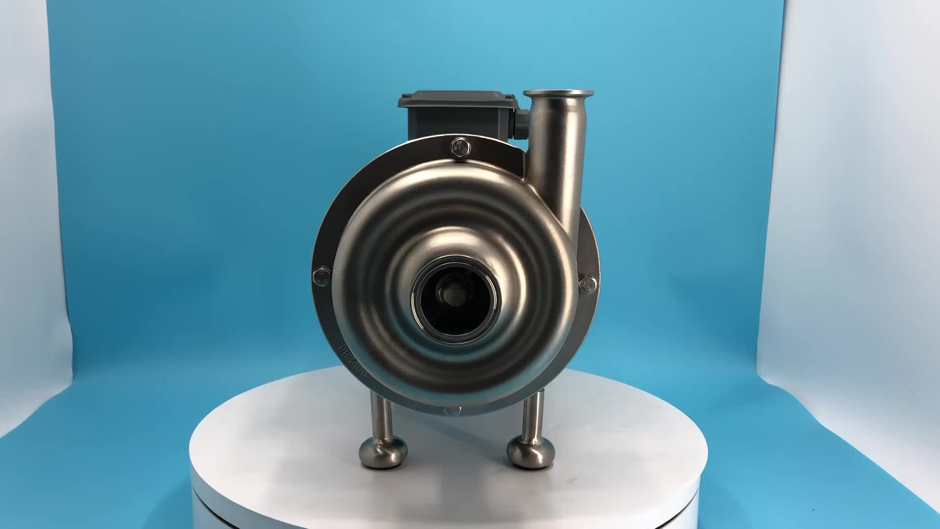 Donjoy Food grade stainless steel sanitary centrifugal beer pump milk centrifugal pump