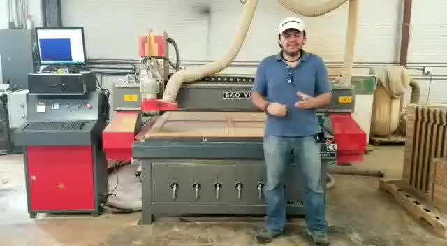CNC router woodworking machine 1325 1530 2040  cnc wood router for mdf cutting wooden furniture door making