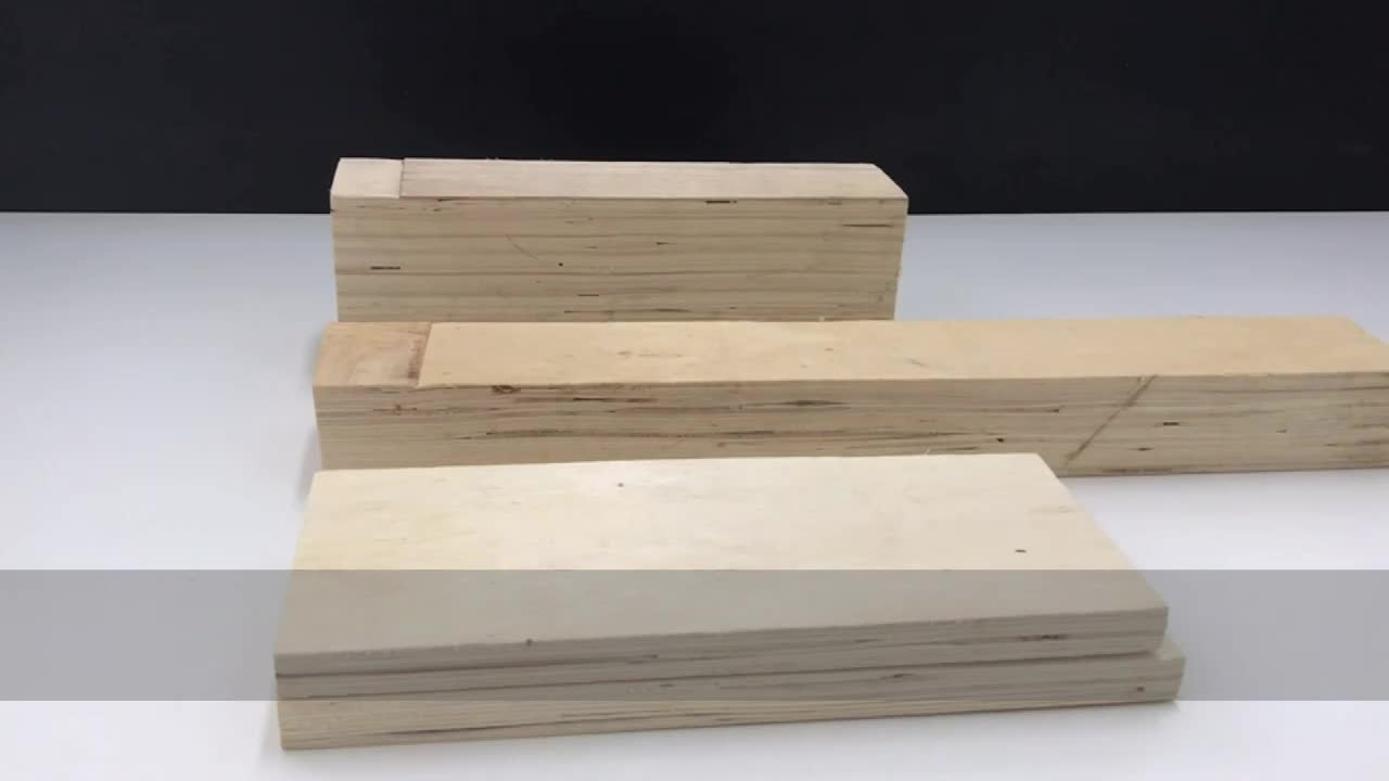 LVL wood products for wooden packing crates