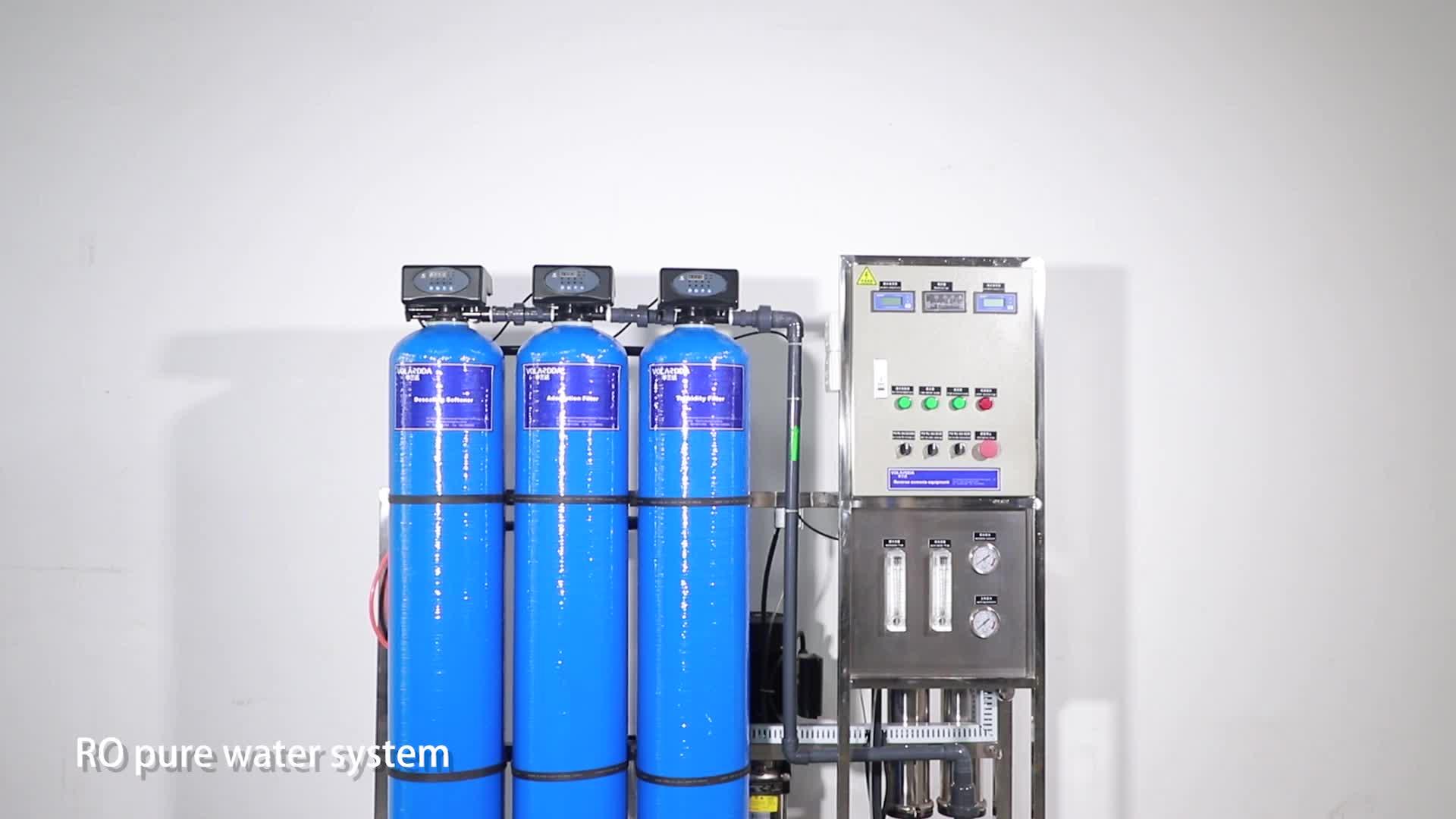 SS filtro acqua mini minerale impianto di sistemi ad osmosi inversa per bere acqua prezzo