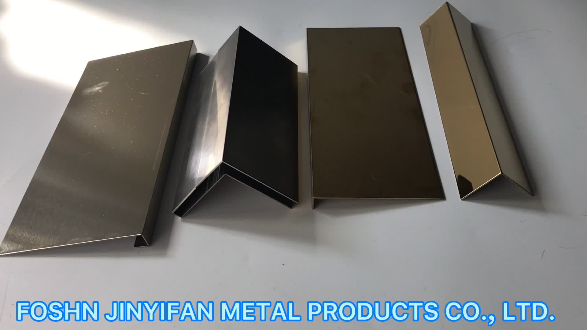 jyf10010 Factory wholesale Metal Material Tile Trims Tile Accessory Type stainless steel border