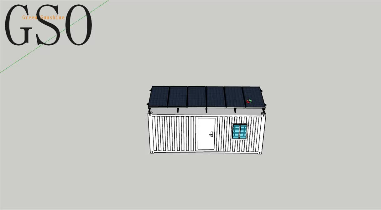 25 years warranty house use offgrid small solar power system 3000w with gel battery