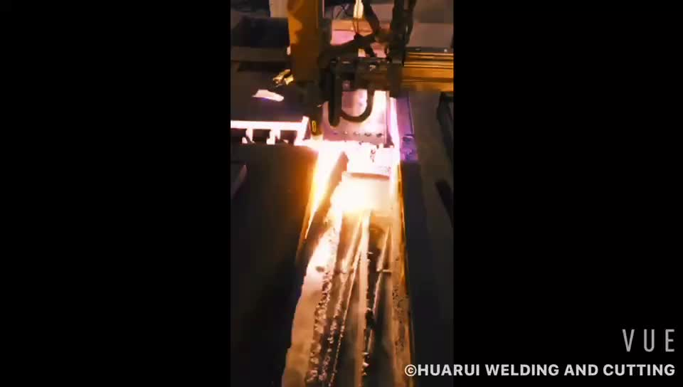Huarui 5M Cable Central Connector P80 Straight Automatic Machine Use Plasma Cutting Torch