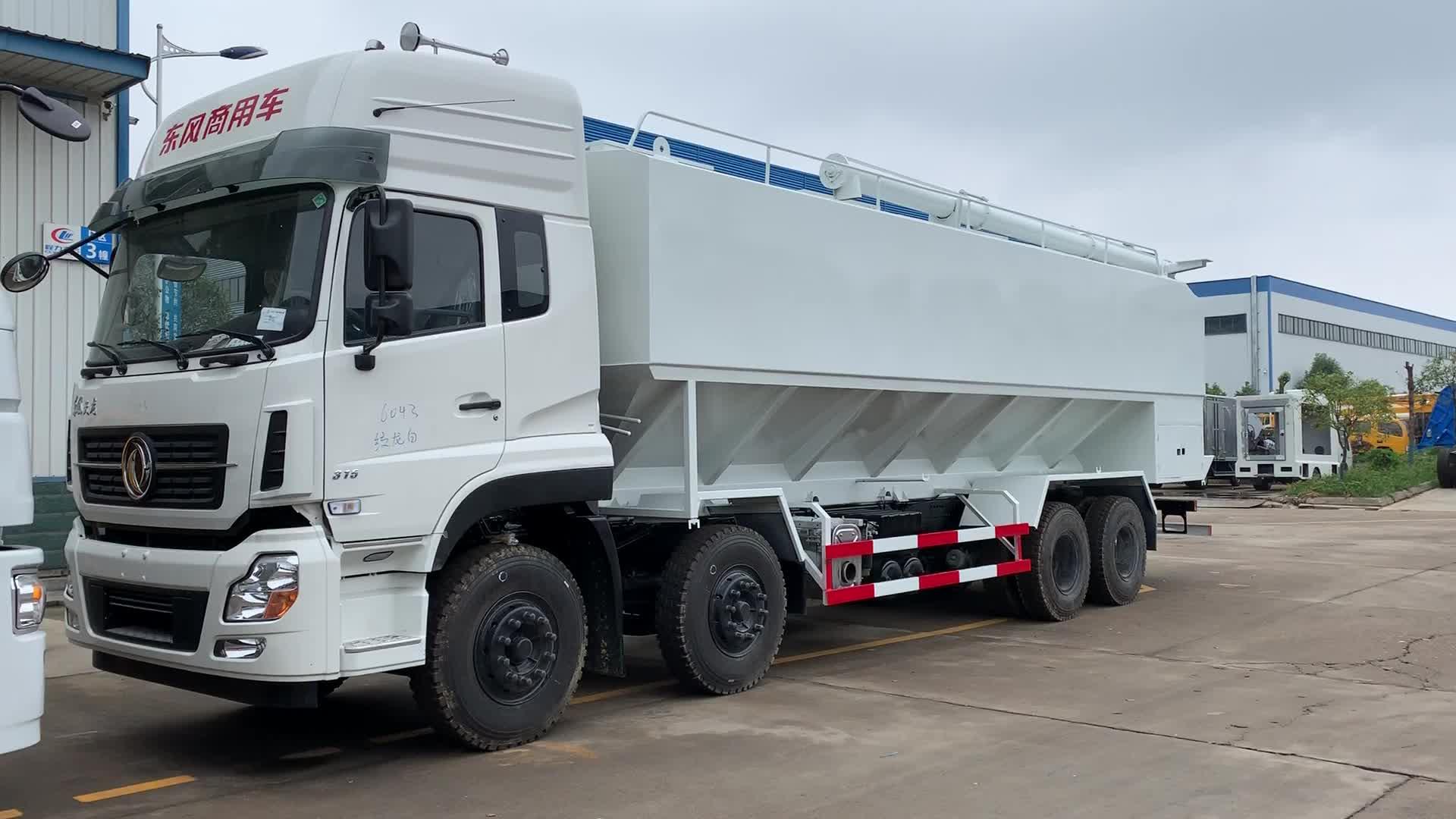 Dongfeng 8x4 di Alimentazione Camion 40CBM Elettrica All'ingrosso di Alimentazione Camion di Consegna Per La Vendita