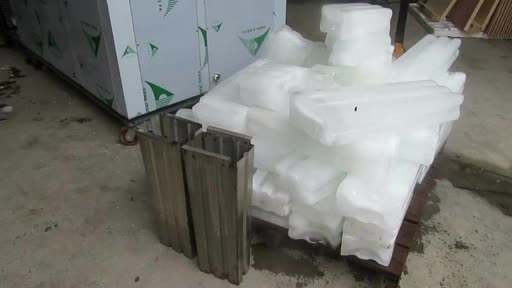 Production Capacity 2 tons/day Automatic Direct Cooled Block Ice Machine