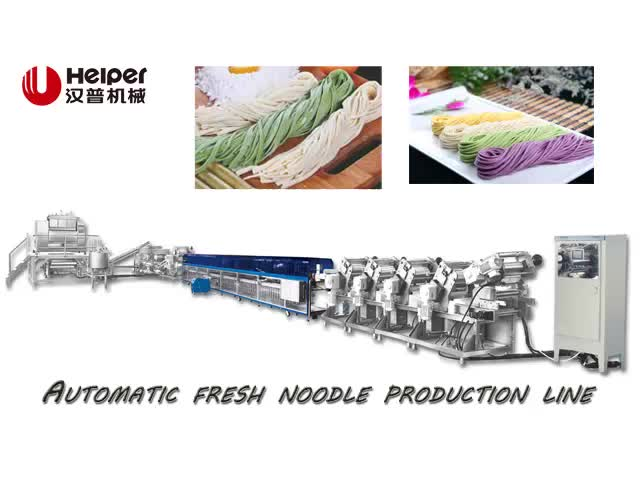 Low Energy Electric Fresh Noodles Production Line