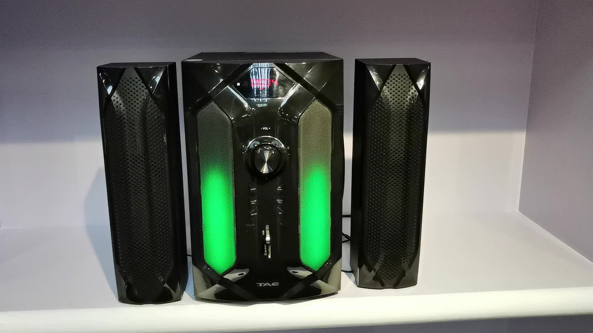 TK-881 2.1 3.1 5.1 Home Theater System 2.1 3.1 5.1 speakers With BT/FM/USB/MP3/SD/remote control