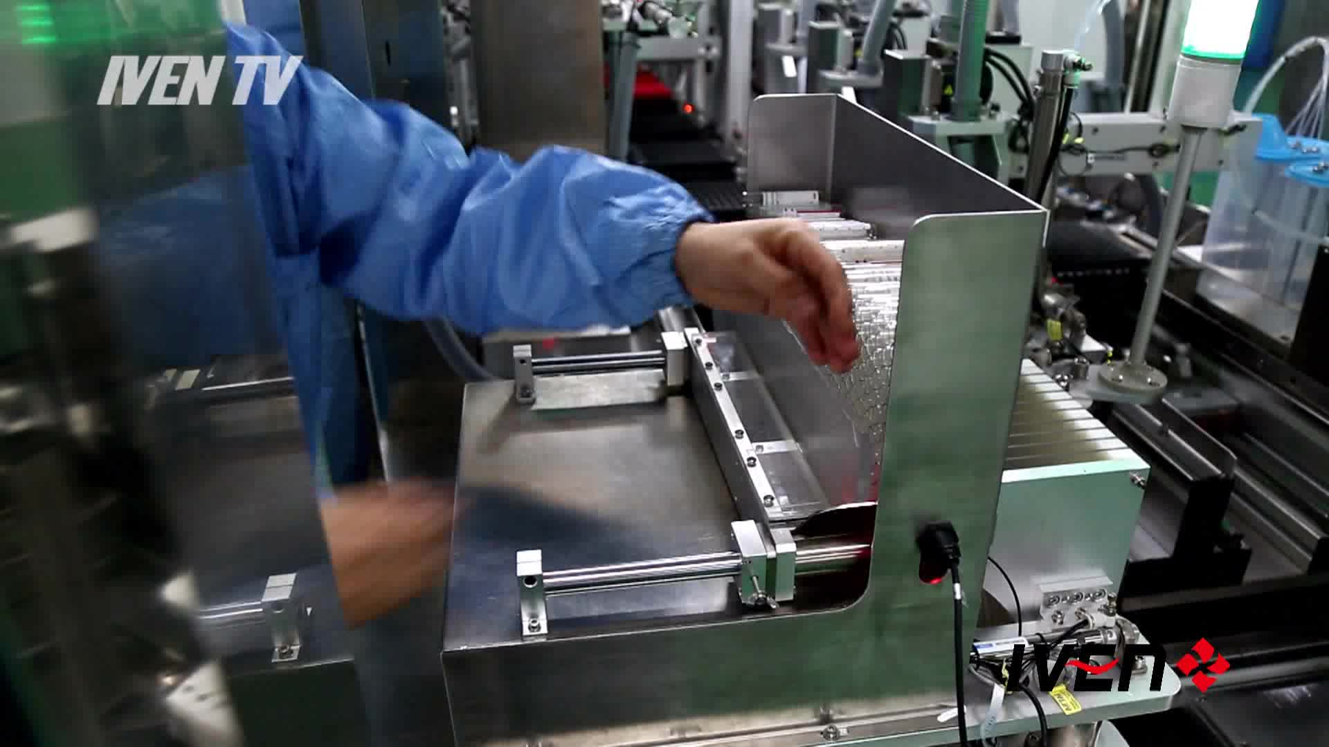 Blood Collection Tube Assembly Line