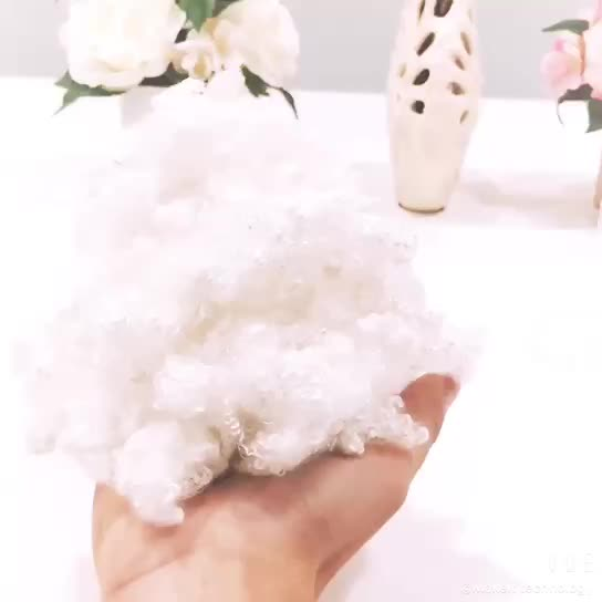 Chinese PET recycle polyester staple fiber cheap price