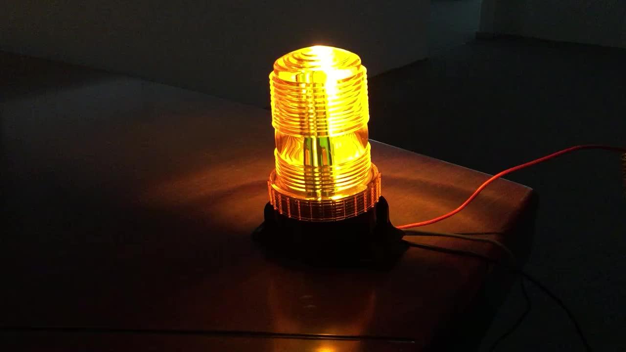 ستروب رافعة شوكية فلاش مصباح ليد تحذيري ضوء المارة 12V 110VForklift الدورية تحذير ضوء
