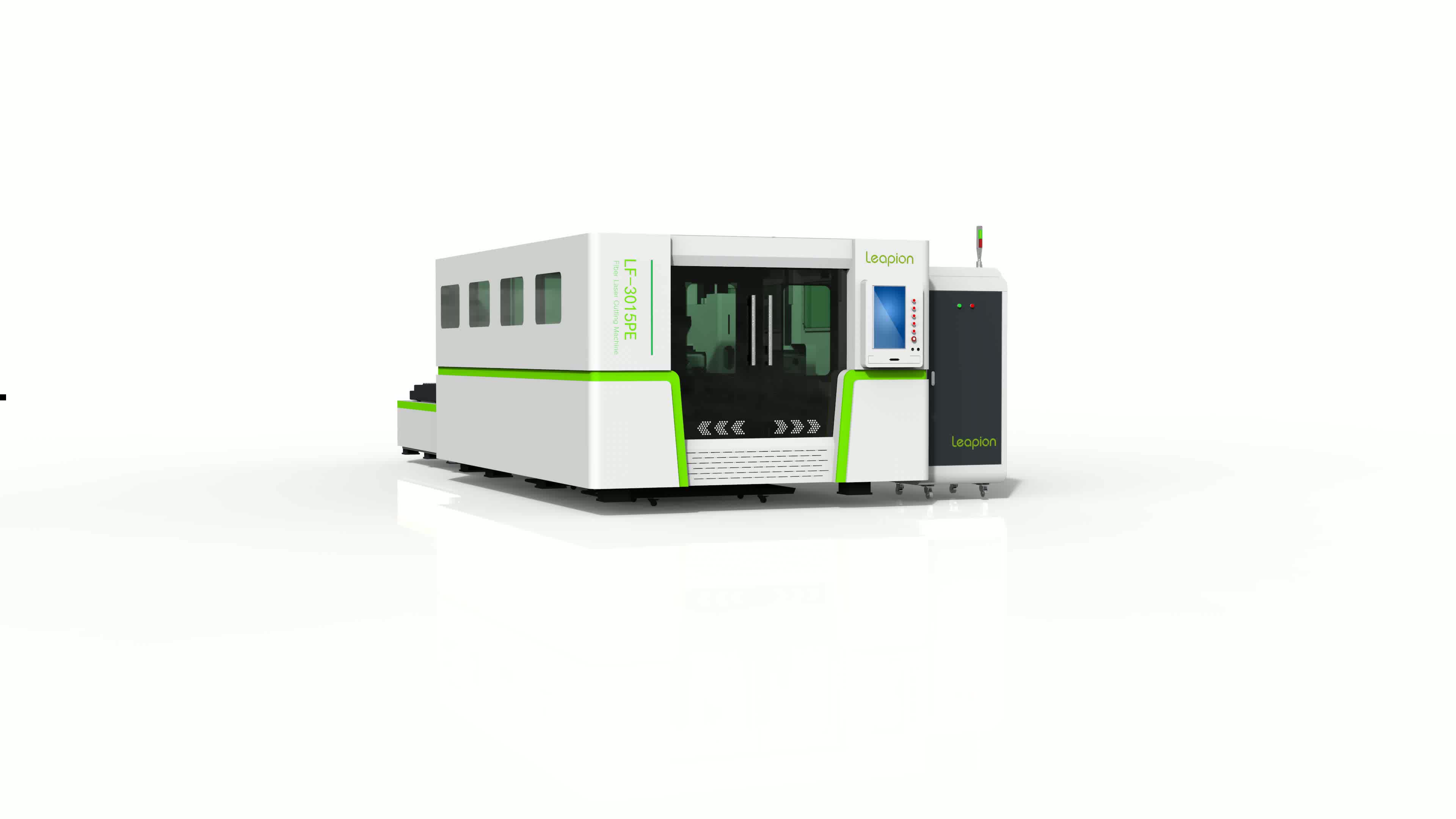 2019 new model enclosed metal fiber laser cutting machine for cutting stainless steel, carbon steel, aluminum, iron
