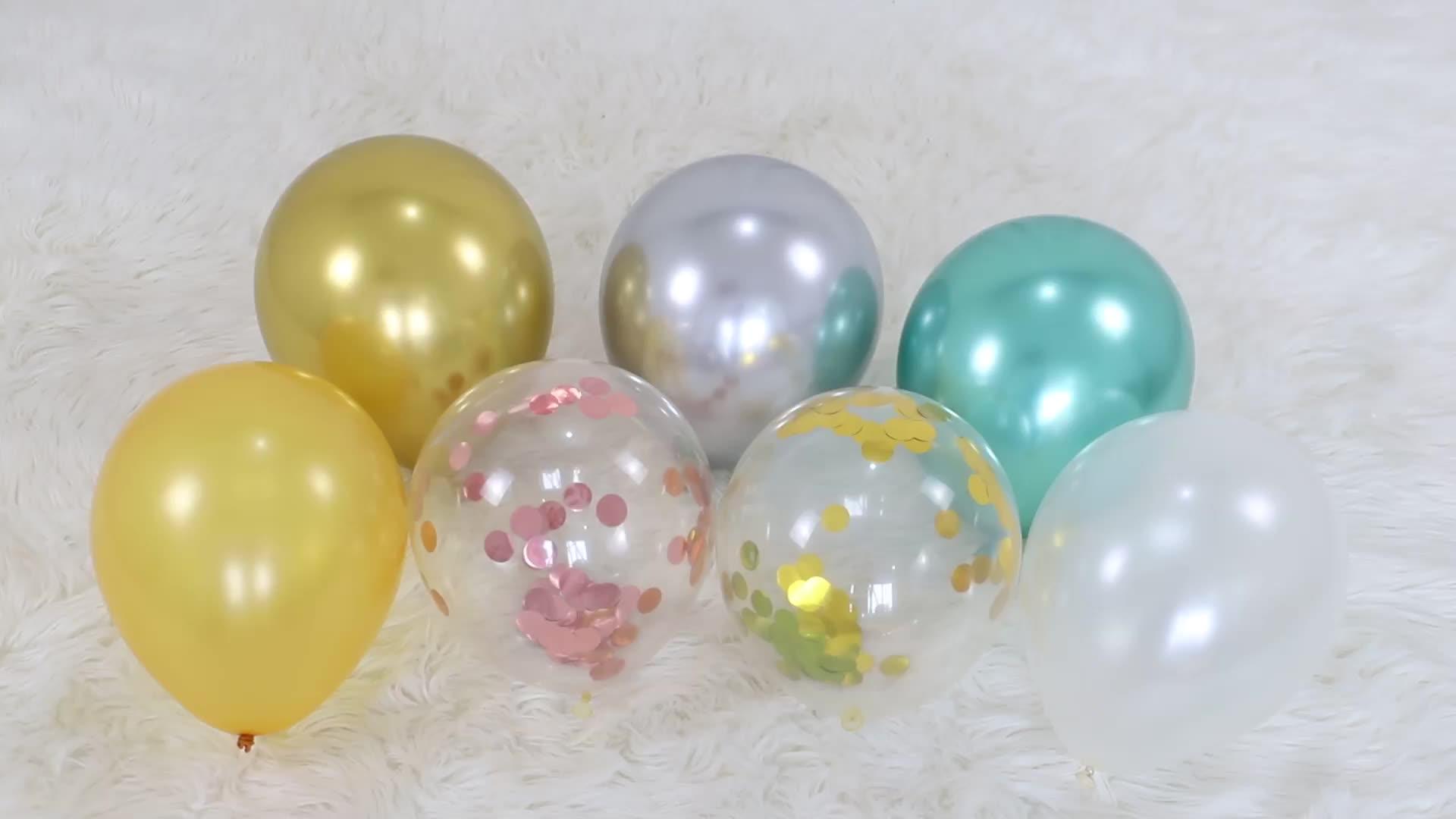 It is your Party — ballons en Latex, 16 ou 14 pièces, décorations de fête d'anniversaire, à Air, gonflables, pour fête, en forme d'étoile