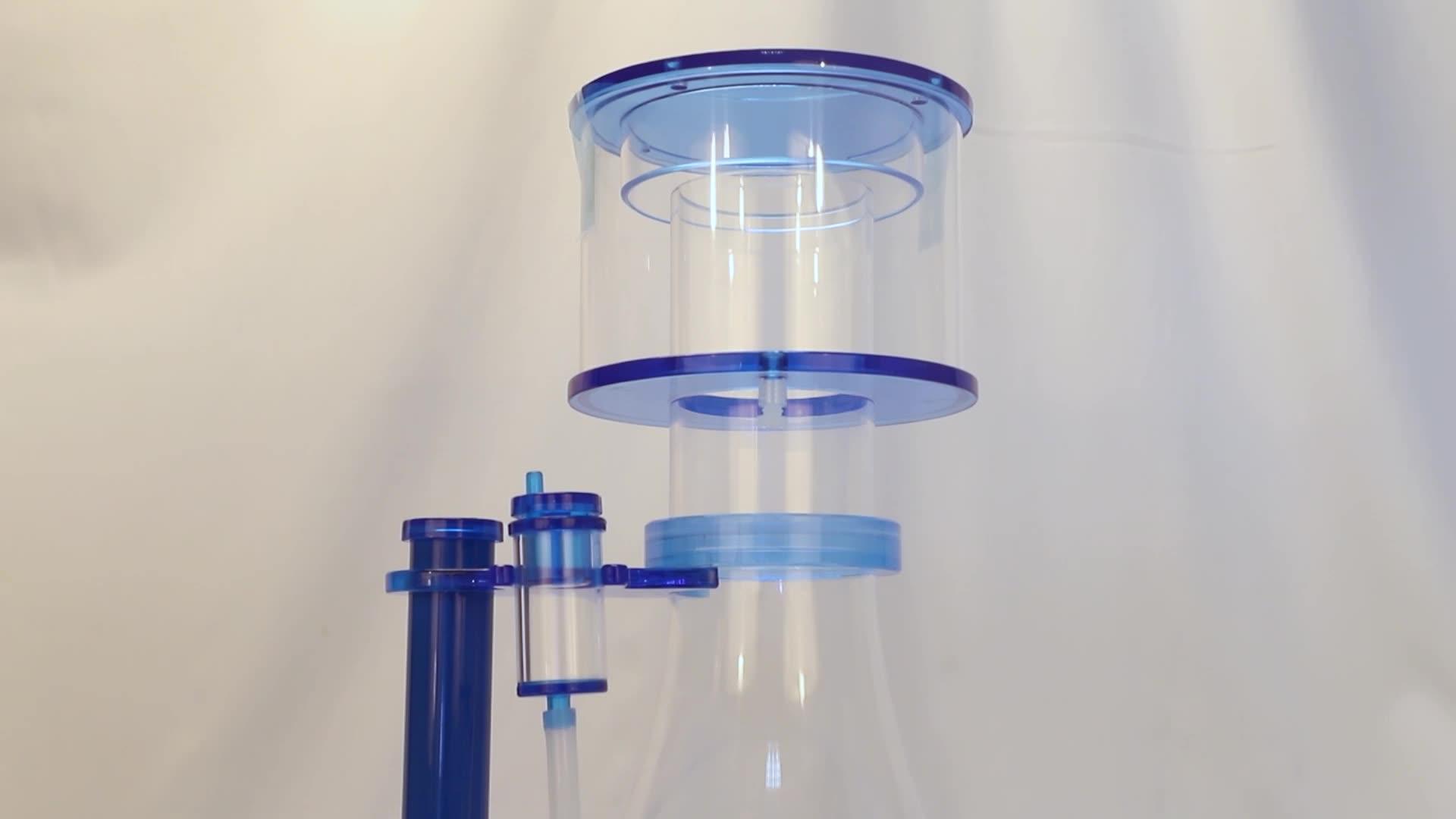 Fish Tank Separator WS-120 Marine Aquarium Protein Skimmer With  DC Water Pump