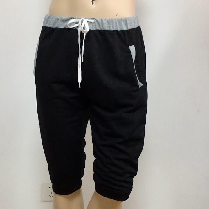 Summer Men Casual Sweatpants Shorts 3/4 Trousers Short Fitness Clothing Bodybuilding Men Shorts Summer Men Clothing