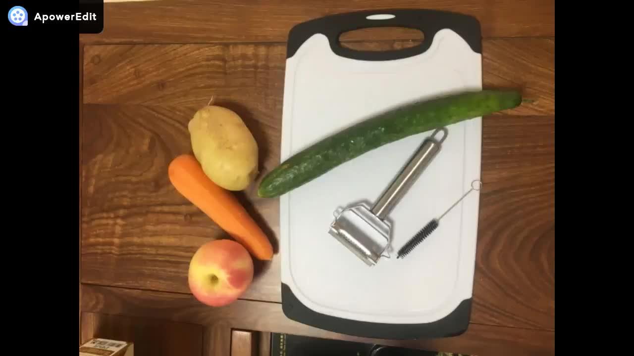 2 blade Stainless steel multi-purpose potato peeler vegetable peeler