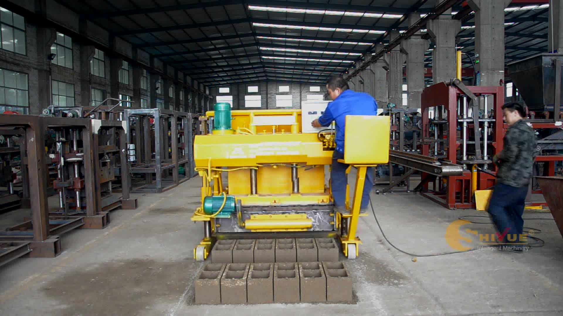 egg laying block making machine price hollow block making machine